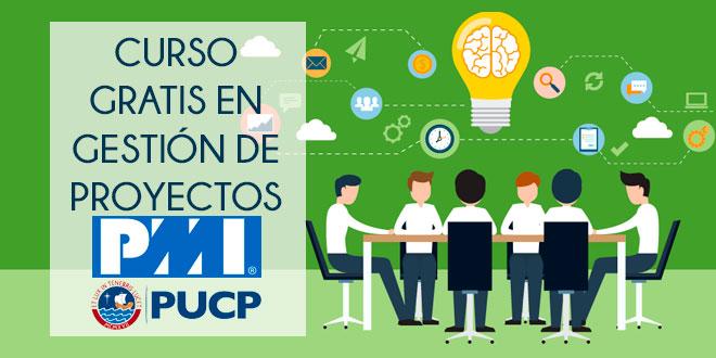 curso gratis en gestión de proyectos pmi pucp